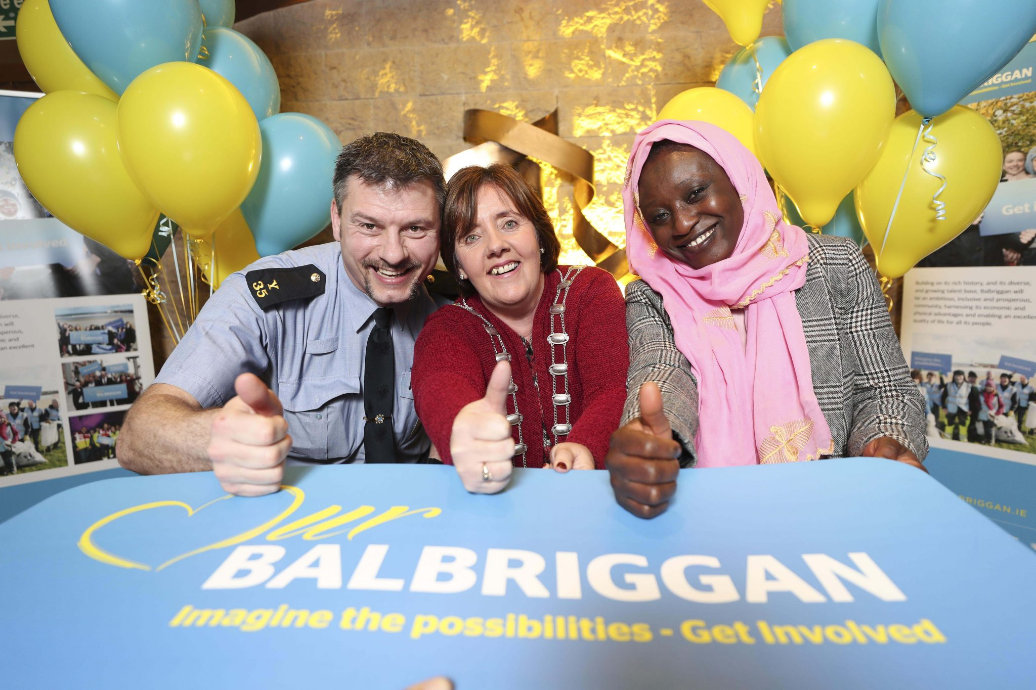 Balbriggan Volunteers Meet Australian Governor General